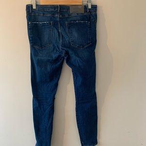 Zara Jeans - Zara Raw Hem Ripped Denim